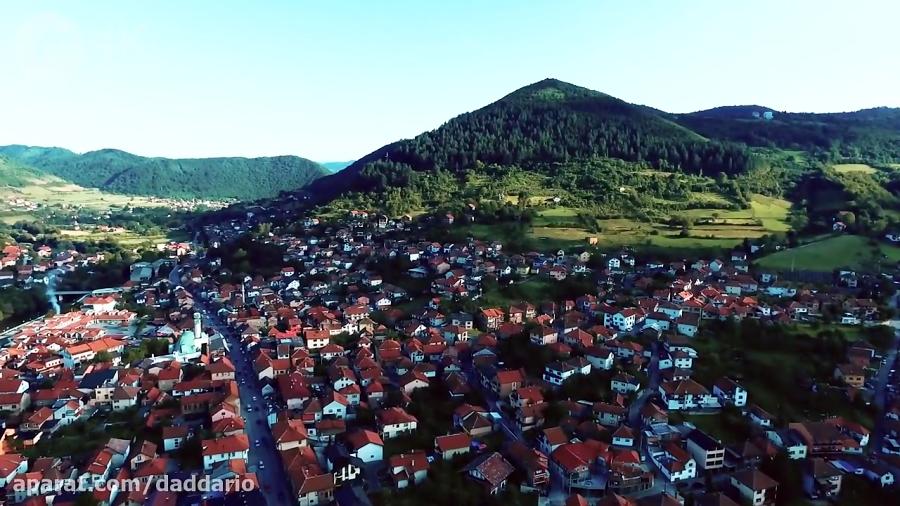 شهر زیبای ویسیکو در کشور بوسنی و هرزگوین