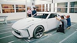 مراحل ساخت نیسان GT-R50 توسط ایتال دیزاین