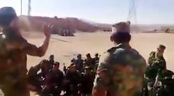 شوخى سرهنگ ارتش سوريه ب...