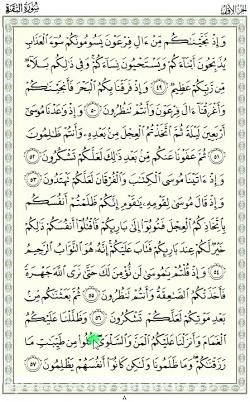 ترجمه و تفسیر قرآن - سوره مبارکه بقره - آیه 57