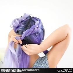 مدل بافت موی خیلی زیبا