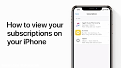 How to view your subscriptions on your iPh...