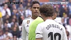 خلاصه بازی رئال مادرید 1-2 لوانته