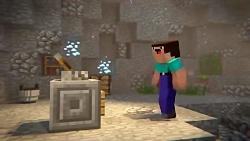 انیمیشن جالب Minecraft