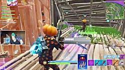 گیم پلی Jack Gourdon در بازی فورتنایت با Ninja