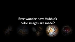 Creating a Hubble Galaxy in Two Minutes