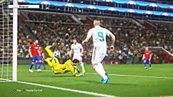 بازی PES 2018- لیگ قهرمانی اروپا-رئال مادرید و پلزن