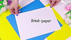 اموزش اسکویشی کاغذی