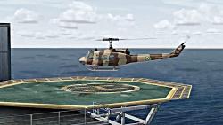 هلیکوپتر بل 205 ارتش در ش...