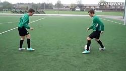 پنج مهارت  جالب فوتبال