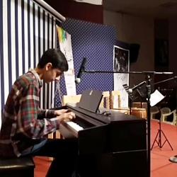 اجرای پیانو امیر احمدی ...
