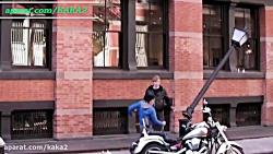دوربین مخفی کاراته باز ...