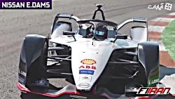 صدای خودروهای نسل دوم فصل 5 فرمول E در تست های پیش فصل