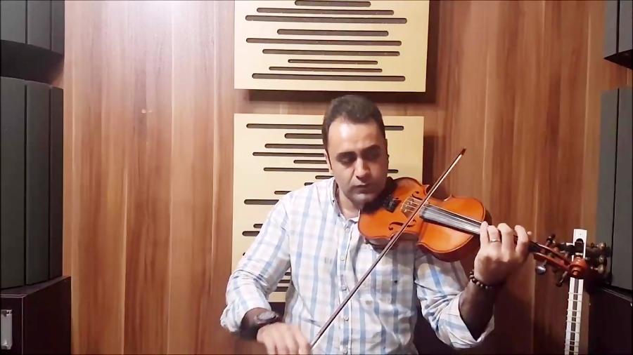 آموزش ویولن تکنیک ها آموزش بداه نوازی تکیه ها 3 ایمان ملکی