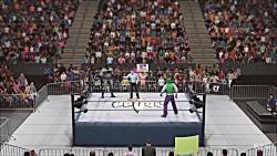کشتی کج بتمن و جوکر در WWE 2K19