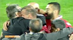 سوت پایان مسابقه و صعود پرسپولیس به فینال لیگ قهرمانان آسیا