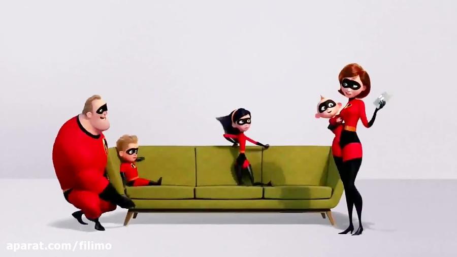 آنونس انیمیشن «شگفت انگیزان 2»