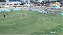 خلاصه بازی نفت مسجد سلیمان 0-1 پدیده (لیگ برتر خلیج فارس - 1397 98)