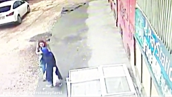 پیاده رو دو زن را در ترکیه بلعید