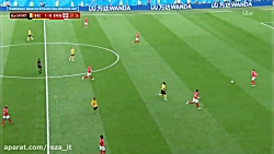 بازی کامل بلژیک انگلیس ...