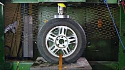 مقایسه مقاومت چرخ های آلیاژی و فولادی