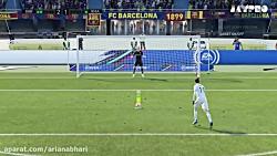 پنالتی الکلاسیکو رئال مادرید و بارسلونا