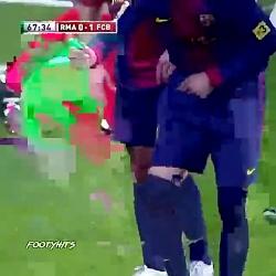 الکلاسیکو و دعواهاش(بازیکنای بارسلونا و رئال مادرید)