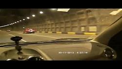 غرش کامارو در تونل رسالت