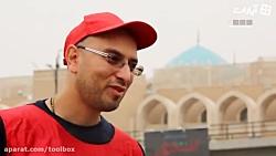 زائر فرانسوی: امام حسین(ع) قبله عاشقان است
