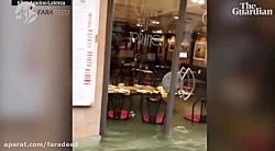 خسارت سیل در ونیز