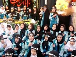 مراسم عزاداری دختران به مناسبت اربعین حسینی