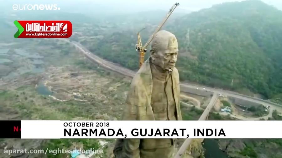 رونمایی از بلندترین مجسمه جهان!