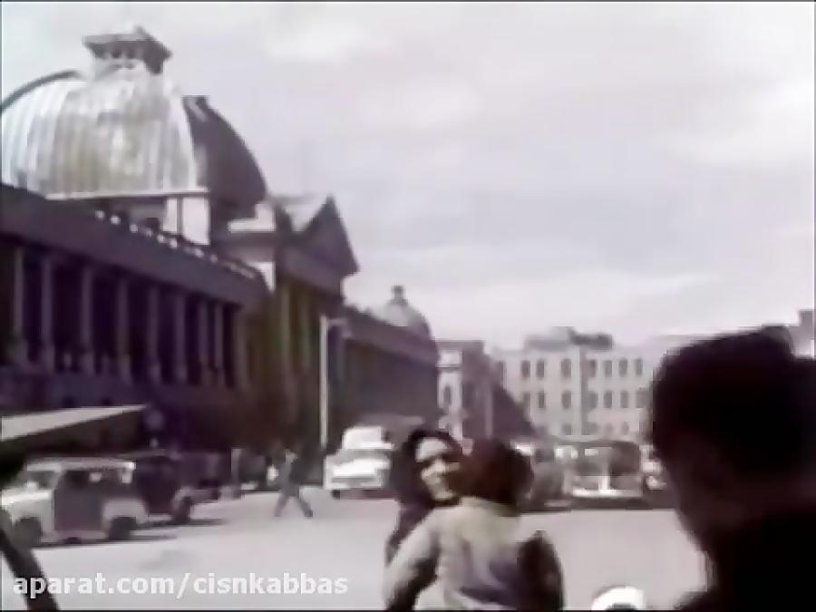 تهران، دهه ۵۰ میلادی (هفتاد سال قبل)