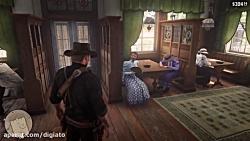 نوازنده بیاعصاب پیانو - Red Dead Redemption 2