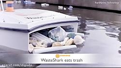 ربات زباله خوار در کانال های دبی جلوی آلودگی آب ها را می گیرد