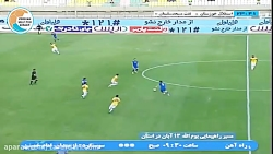 خلاصه بازی استقلال خوزستان 1-2 نفت مسجد سلیمان (لیگ برتر ایران-1397 98)