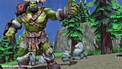 ویدیو گیم پلی نسخه ی ریمستر شده بازی Warcraft 3 - زومجی