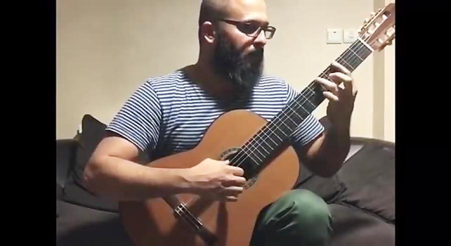 Xodo Da Baiana by Dilermando Reis محمد صالحی مدرس گیتار کلاسیک آموزشگاه موسیقی