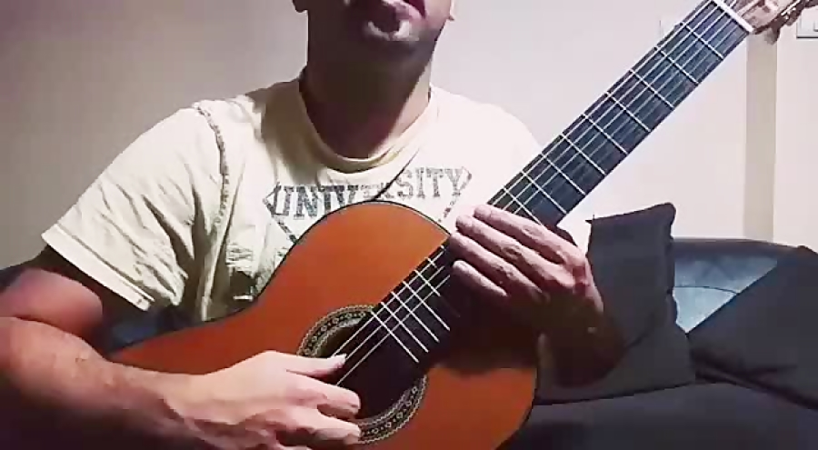 Xodo Da Baiana by Dilermando Reis محمد صالحی مدرس گیتار کلاسیک آموزشگاه موسیقی فریدونی.mp4