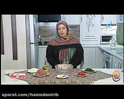 طرز تهیه کباب لبنانی یا کفتا بسیار خوشمزه_تصویری