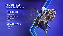 تریلر گیم پلی کاراکتر Orphea در بازی Heroes of the Storm - زومجی