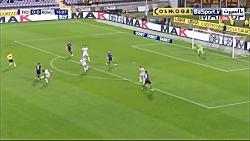 خلاصه بازی فیورنتینا 1-1 آاس رم