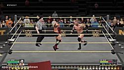 مجموعه گیم پلی بازی کشتی کج WWE 2K16 قسمت 1