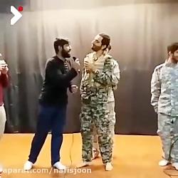 دابسمش آهنگ خواجه امیری توسط مدافع حرم معروف
