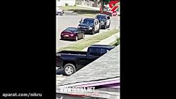 شلیک مامور پلیس مردی که یک زن را گروگان گرفته بود