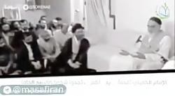 نظر امام خمینی درباره امام خامنه ای