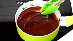 سس شکلات برای شکلاتی کردن بستنی، آجیل جات و سایر دسرها