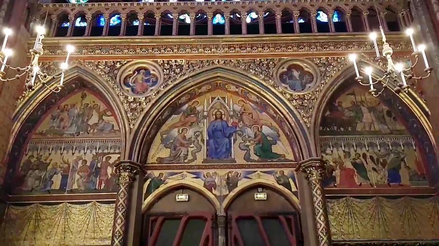 کلیسای سن چپل در پاریس