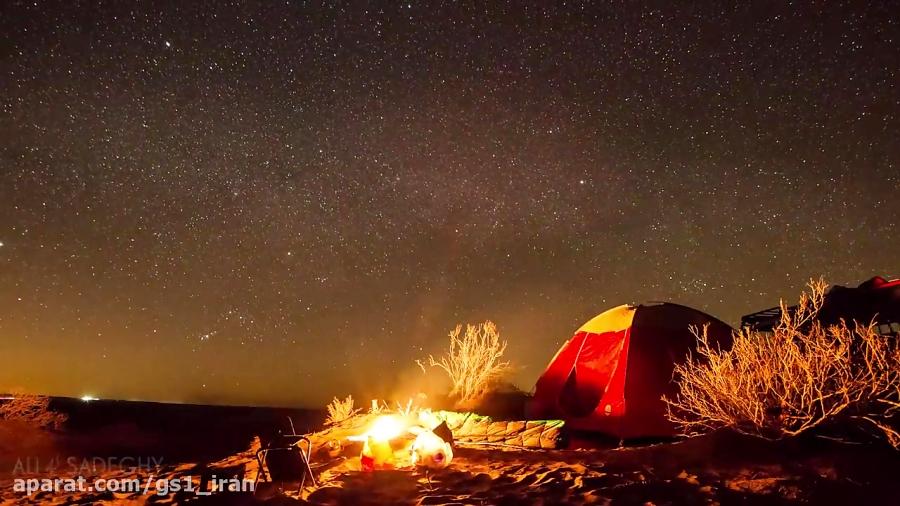 a night in Maranjab Desert _ شبی در کویر مرنجب