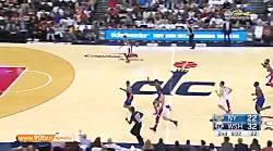 10 حرکت برتر بسکتبال NBA: دوشنبه 97 08 14